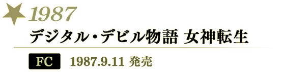 1987 デジタル・デビル物語 女神転生